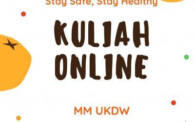 Kuliah Online untuk Mahasiswa MM UKDW