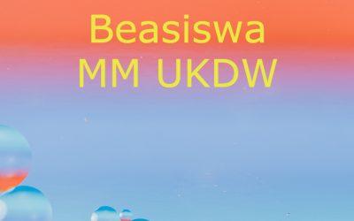 Beasiswa MM UKDW